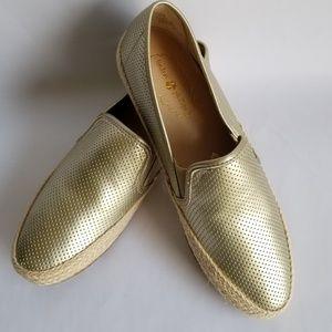 Nwot, Lindsay Phillips gold slides